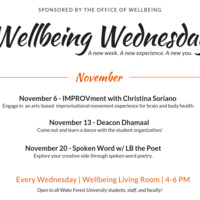 Wellbeing Wednesday: IMPROVment with Christina Soriano