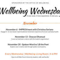 Wellbeing Wednesday: Deacon Dhamaal