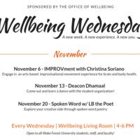 Wellbeing Wednesday: Deacon Dhamaal