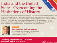India and the United States: Overcoming the Hesitations of History
