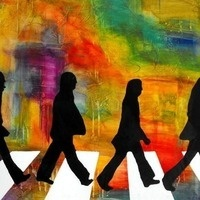 Abstract Abbey Road