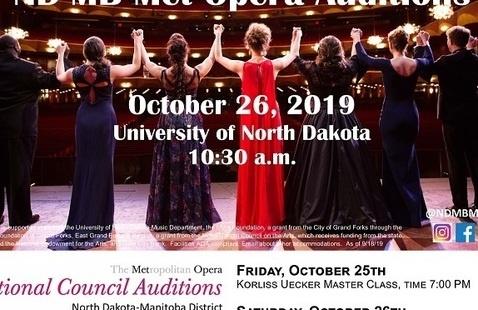 North Dakota-Manitoba Met Opera Auditions