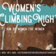 Women's Climbing Night