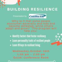 WELLNESS:   Building Resilience Seminar