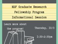 NSF Graduate Research Fellowship Program Information Session