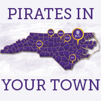 Pirates In Your Town - Raleigh