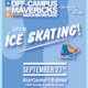 Off-Campus Mavericks Ice Skating in Euless