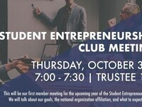 Student Entrepreneurship Club Meeting