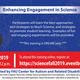 Enhancing Engagement in Science