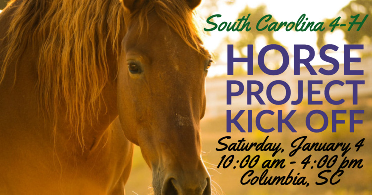 SC 4-H Horse Project Kick Off Registration