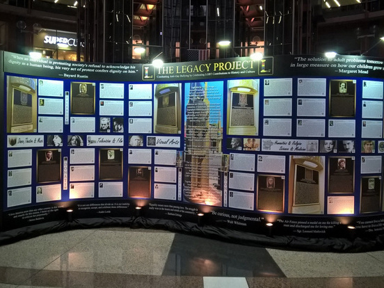 The Legacy Wall: LGBTQ People Throughout History