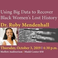 Public Talk: Using Big Data to Recover Black Women's Lost History