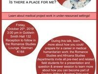 Doctors Without Borders information session: What do they do? Is there a place for me?