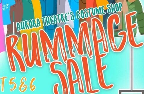Aurora Theatre Rummage Sale