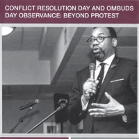 Beyond Protest, a Community Dialogue in Observance of Conflict Resolution and Ombuds Day