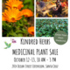 Kindred Herbs Fall Plant Sale