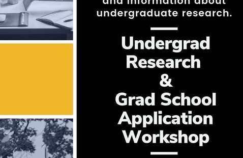 Undergrad Research and Grad School App Workshop