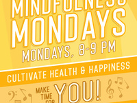 Mindfulness Mondays: take a break for your health and happiness! Watercolor Crayon/Painting Workshop