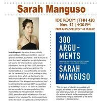 A Reading with Sarah Manguso