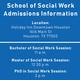 Houston—School of Social Work Graduate Info Session