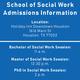 Houston—School of Social Work PhD Information Session