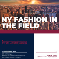 New York Fashion in the Field Info Sessions