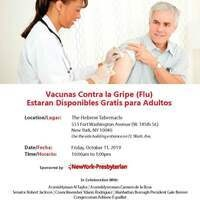 Free Flu Vaccines for Adults