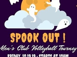 SPOOK OUT Men's Club Volleyball Tourney