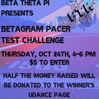 Betagram Pacer Test Competition