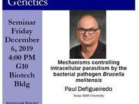 MBG Friday Seminar: Paul Defigueiredo - Mechanisms controlling intracellular parasitism by the bacterial pathogen Brucella melitensis