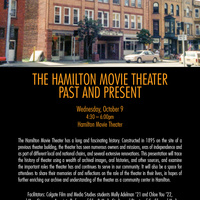 Hamilton Movie Theater; Past and Present