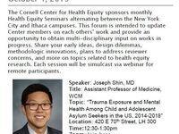 Health Equity Seminar Series