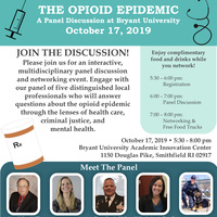 Opioid Epidemic — Panel Discussion