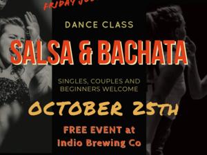 Salsa Night at Indio Brewing