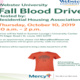 Webster University Fall Blood Drive