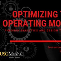 Workshop: Optimizing the Operating Model Through Systems Analytics & Design Thinking