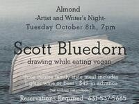 Almond Artists & Writers Dinner Series Continues with Scott Bluedorn
