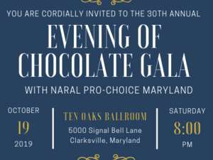 30th Annual Evening of Chocolate Gala