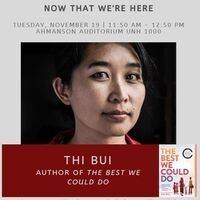 Now That We're Here - Conversations On Refugee, Trauma, and Art