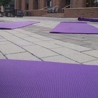 Morning Yoga at the Main Student Center