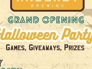 Anderby Brewing's Spooktacular Party