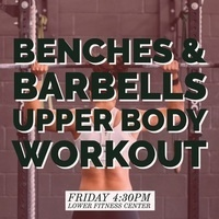 Free Fitness Friday: Benches and Barbells