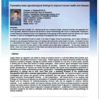 Wertheim Lectureship Series: Dr. Charles Dimitroff