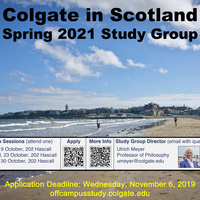 Spring 2021 Scotland Study Group Info Session