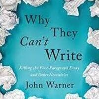 """""""Why They Can't Write"""" Learning Community"""