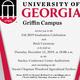 UGA Griffin Campus Graduation Celebration and Brick Ceremony