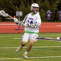 Kenyon lacrosse player