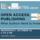 U Publish: Open Access Publishing
