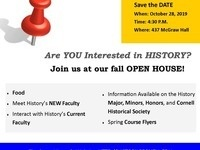 History's Open House