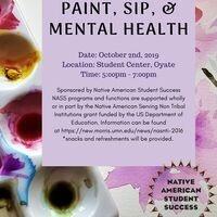 Paint, Sip & Mental Health